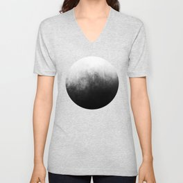 Abstract IV Unisex V-Neck