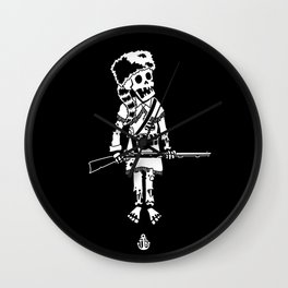 Davy Croquemort Wall Clock