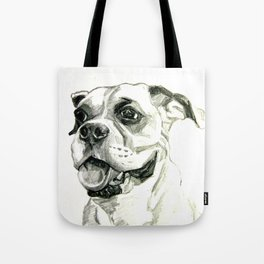 Smiling Boxer Boy Oscar Tote Bag