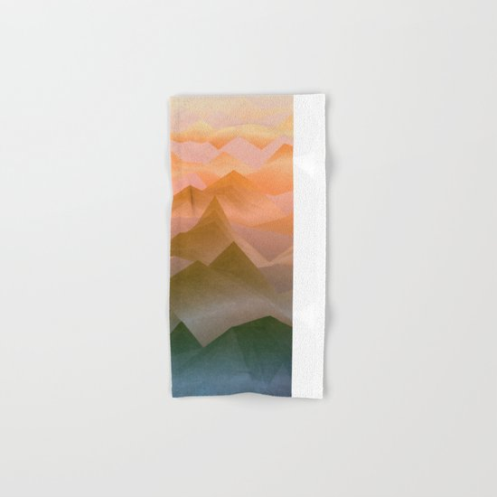 Top of the World (Sunrise) Hand & Bath Towel