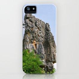Shilin limestone pinnacles - Yunnan, China iPhone Case