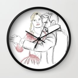 Undercover Lovers Wall Clock