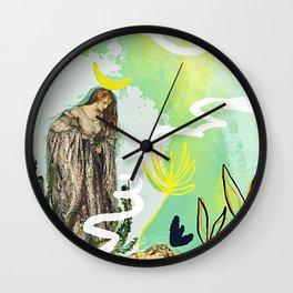 The High Priestess - Tarot Wall Clock