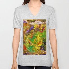 Color play Unisex V-Neck