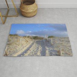 In the dunes Rug