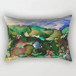 Bountiful Landscape Rectangular Pillow