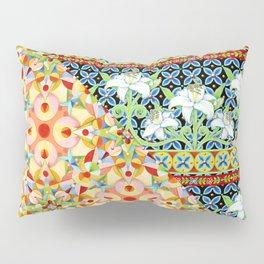 Tangerine Confetti Lilies Pillow Sham