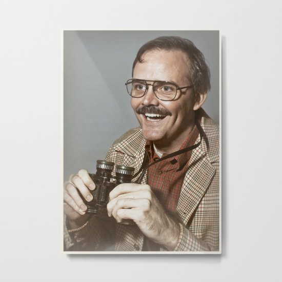 i.am.nerd. :: danforth f. Metal Print