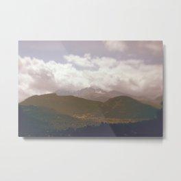 Long's Peak (color) Metal Print