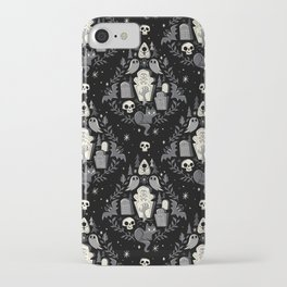 Graveyard Ghouls iPhone Case