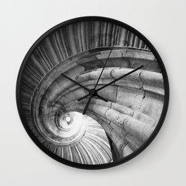 Wendelstein im Renaissance Schloss Hartenfels Wall Clock
