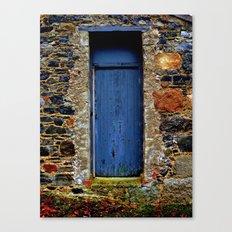 The Blue Door of Ballymascanlon Canvas Print