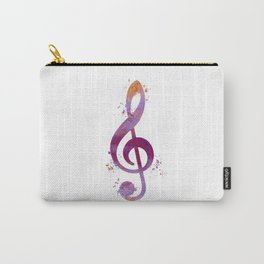 Treble clef Carry-All Pouch