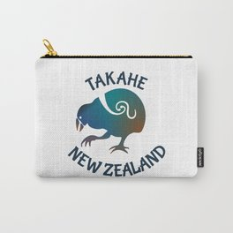 TAKAHE New Zealand Native bird Carry-All Pouch