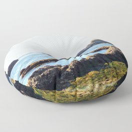 Oregon Coast Floor Pillow