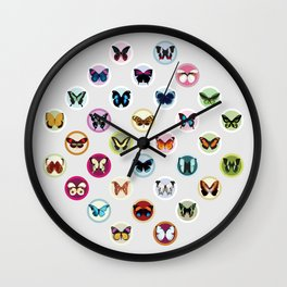 Butterfly Candy Wall Clock