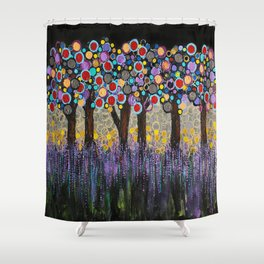 :: When Night Falls :: Shower Curtain