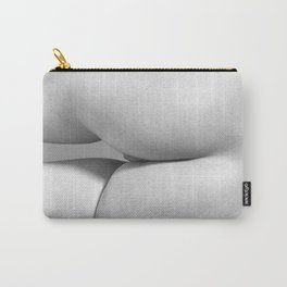 Imperfect Symmetry in a woman body Carry-All Pouch