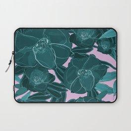 Intrepid Blooms (Emerald) Laptop Sleeve