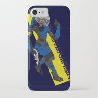 garrus iPhone & iPod Cases featuring Garrus Vakarian by KuroHyena