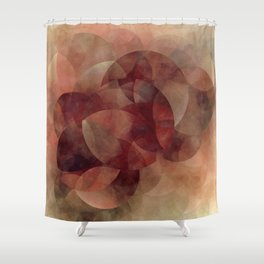 Schnittmengen II Earth Shower Curtain