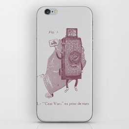 Cent Vues iPhone Skin