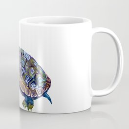 Slider Baby Turtle artwork Coffee Mug