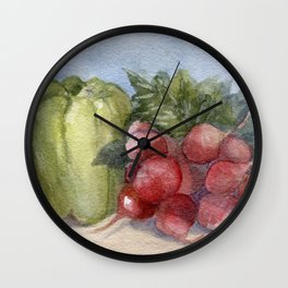 Produce Wall Clock