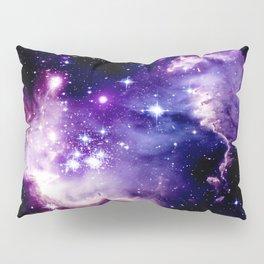 Galaxy .  Deep Purple & Blue Pillow Sham