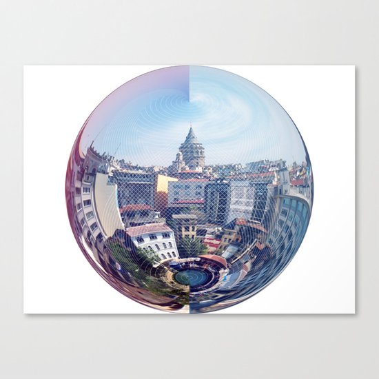 Galata Sphere Canvas Print