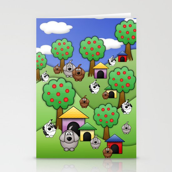 Billy, Bob & Fido.  Stationery Cards