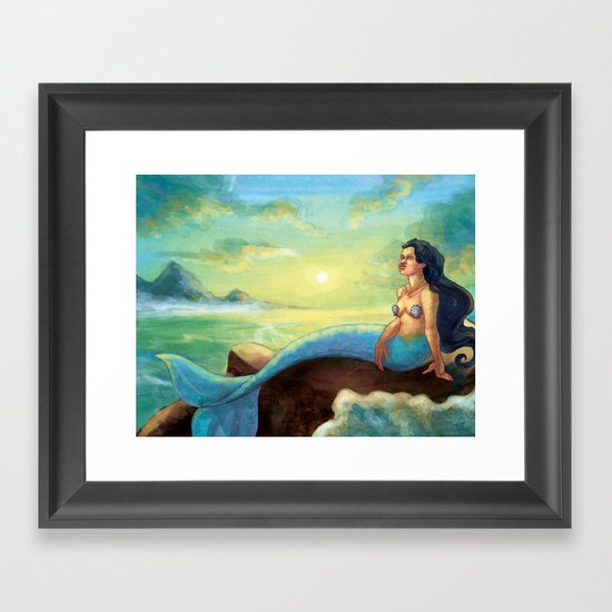 Aubade Framed Art Print