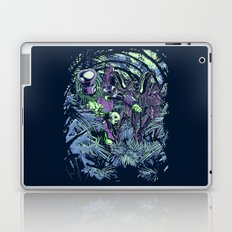 Welcome to the jungle (neon alternate) Laptop & iPad Skin