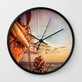 Sail on Spirit of Buffalo Wall Clock