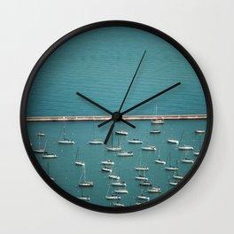 I'm on a boat Wall Clock