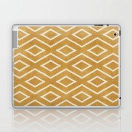 Stitch Diamond Tribal in Gold Laptop & iPad Skin