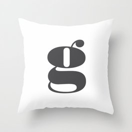soft pink beige -840 Throw Pillow