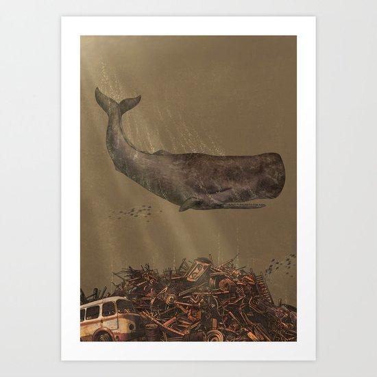 The Last Whale  Art Print