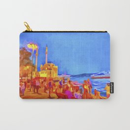 Istanbul Pop Art Carry-All Pouch