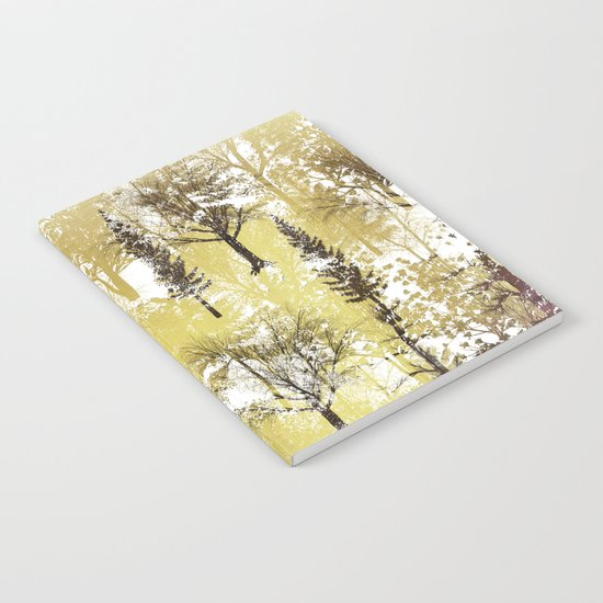 Winter Trees Pattern Notebook