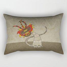 Masquerade in Africa III Rectangular Pillow