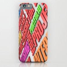 design poster Slim Case iPhone 6s
