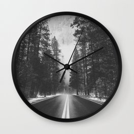 ROAD TRIP IV / Yosemite, California Wall Clock