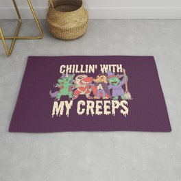 Halloween Animals Rug