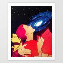 True Love - Galaxy Art Print
