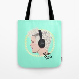 Betty Who Tote Bag
