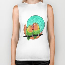 Lovebirds Biker Tank