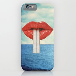Bébete el mar iPhone Case