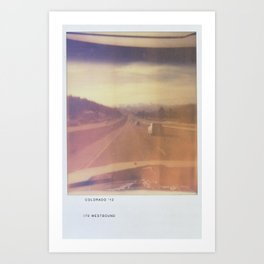 COLORADO 2012 Art Print