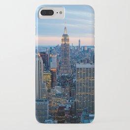 New York City Dusk iPhone Case